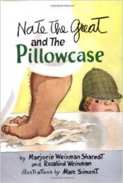 Nate the Great and the Pillowcase (image from amazon.com)